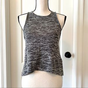 Abercrombie & Fitch Sleeveless Open Back Crop Top